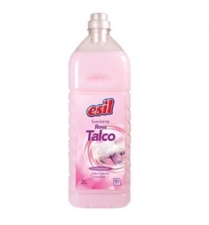 Amaciador  Roupa Rosa Talco Esil - 2Lts