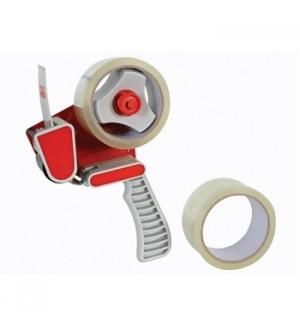 Pack desenrolador punho (dispensador) + 2 rolos 50mm x 50mt