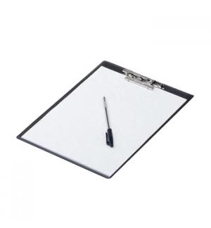 Clip Board Plastico c/Capa 34x22,5cm Roma 245 Azul
