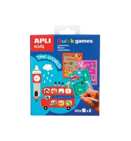Jogo Apli Kids Quick Games Tema O Mundo 1un
