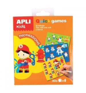 Jogo Apli Kids Quick Games Tema Profissões 1un