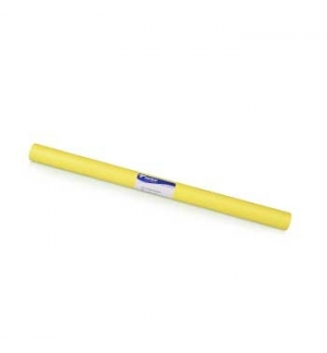 Forra Livros Rolo 0.50x3mts Autocolante 100mic Opaco Amarelo