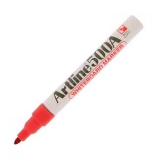 Marcadores Quadros Brancos Artline 500 Vermelho Cx 12un