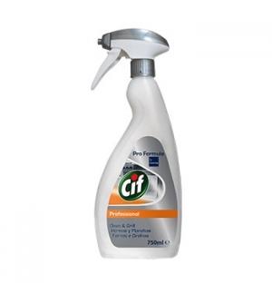 Detergente Cif PF p/Fornos e Grelhas 750ml