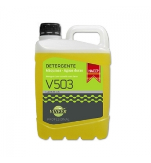 Detergente Máquina Loiça Líquido HACCP 5L (Águas Duras)