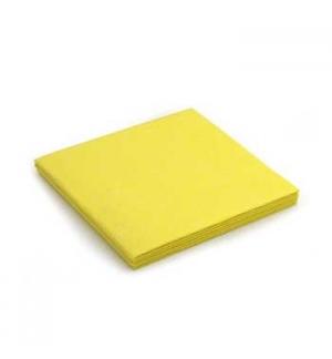 Panos Multiusos 40x38cm Suave Amarelo Pack 3un