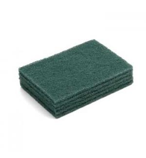 Esfregao Fibra Verde p/Loica  15x10cm - Pack 5un