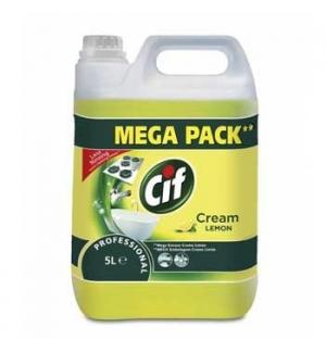 Creme Limpeza Cif Professional Creme Limão 5L