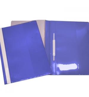 Classificador Plast.Capa Cristal Roma262 Azul-1un