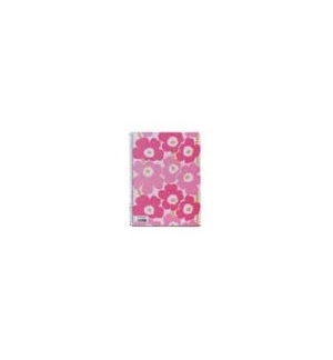 Caderno Espiral A5 Marimekko Quadriculado Rosa -1un