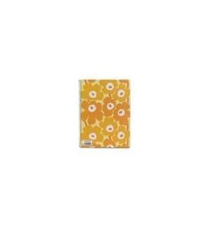 Caderno Espiral Dupla A4 Marimekko Liso 80Fls Amarelo -1un