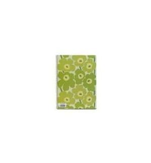 Caderno Espiral Dupla A4 Marimekko Liso 80Fls Verde -1un