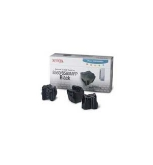 Tinta Solida Xerox 8560 Series Preto Pack 3Uds