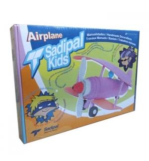 Kit Montagem Cartão Sadipal Kids Avião