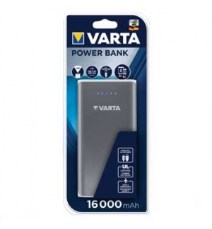 Powerbank 16000 mAh Cinzento