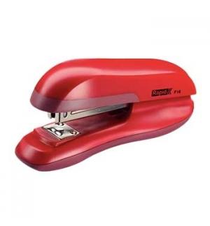 Agrafador 24/6 Rapid F16 20 Folhas Vermelho