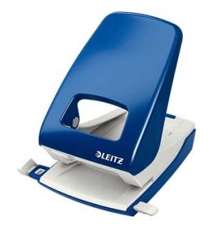 Furador Leitz 5138 4mm c/Regua 40 Folhas Azul