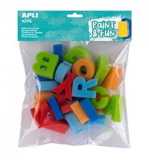 Esponja Carimbo ABC Apli Kids Paint & Fun 26un