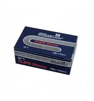 Clips N 01 22mm cx100 1un