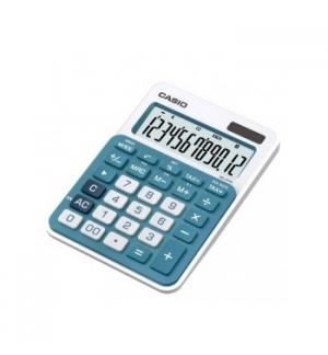 Calculadora de Secretaria Casio MS20UCBU Azul 12 Digitos