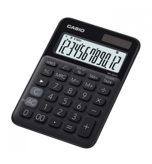 Calculadora de Secretaria Casio MS20UCBK Preto 12 Digitos
