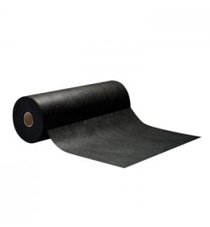 Rolo Toalhas Mesa Decor 0,40mx48m c/Pre-Corte 0,30 Preto 1un