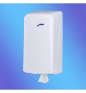 Dispensador Toalhas Rolo Mini Extracao Central Branco