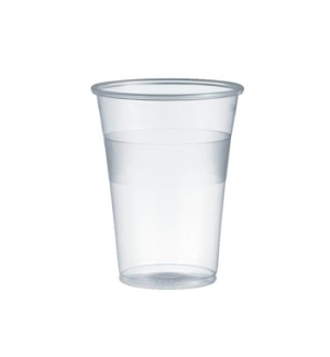 Copo Plástico 200ml Transparente (Água/Chá) 100un