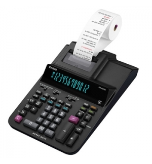 Calculadora de Secretaria Casio DR420RE 12 Digitos c/ Fita