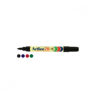 Marcador Grosso Artline 70 Preto-1un