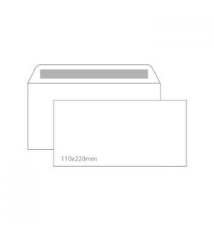 Envelopes 110X220mm s/janela Cx 500un Autodex (53219)