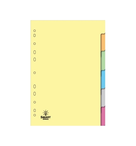 Separadores A4 Cartolina 06un