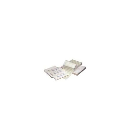 Papel Continuo 240x06 (6x9.5) 3 Vias Cx1000 (Autocopiativo)
