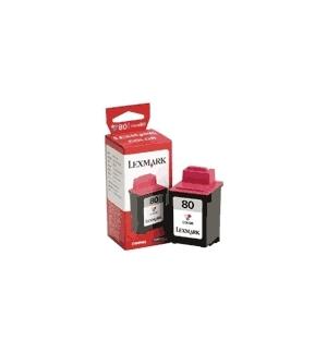 Tinteiro Lexmark 80 Cor 12A1980 12ml 275 Pág.