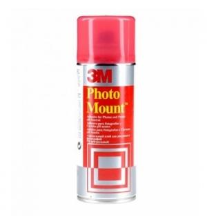 Cola SprayPhotomount Permanente 400ml 260gr (Lata Vermelha)