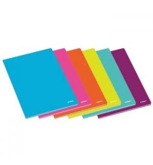 Caderno Agrafado Ambar School A4 Liso 60Fls