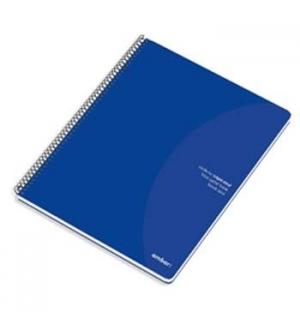 Caderno Espiral Ambar C/Azul A4 Quadriculado 70gr 80Fls