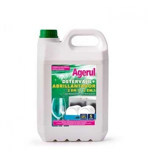 Detergente+Abrilhantador p/ Loica Maquina 2 em 1 5Lts