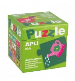 Jogo Puzzle Apli Kids Tema Associacoes 24 Pecas