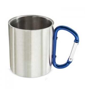 Caneca de Aluminio c/ Mosquetao 200ml