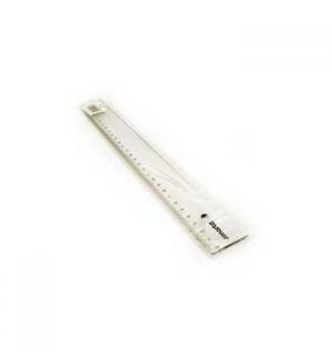 Regua Plastico Cristal SmartD 30cm -1 un