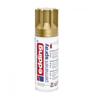 Tinta Acrílica Edding 5200 Spray 200ml Ouro Rico