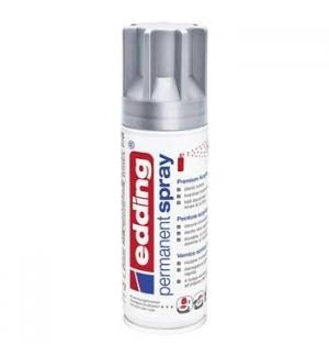 Tinta Acrílica Edding 5200 Spray 200ml Prata