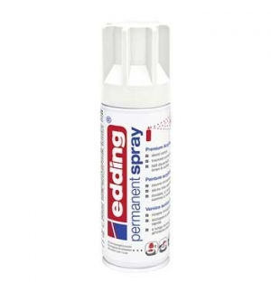 Tinta Acrílica Edding 5200 Spray 200ml Branco Trafego