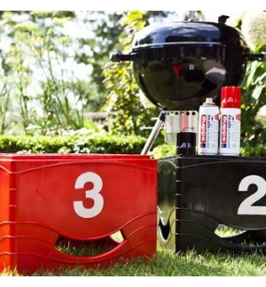 Tinta Acrilica Edding 5200 Spray 200ml Vermelho Trafego