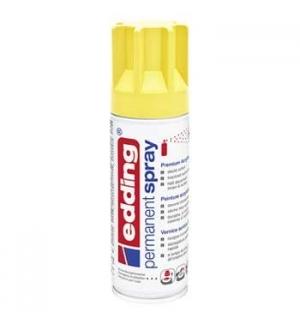 Tinta Acrílica Edding 5200 Spray 200ml Amarelo Trafego