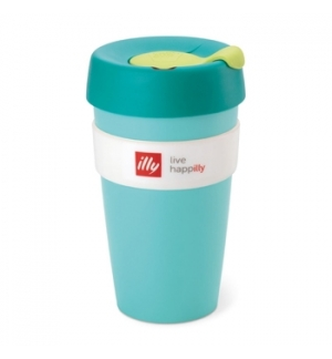 Copo Illy KeepCup Travel Mug Verde 1un