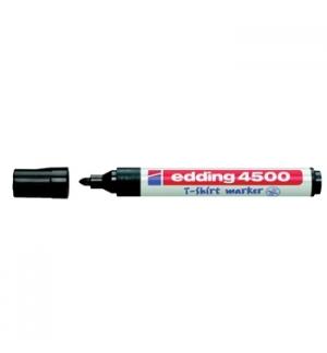 Marcador Tecidos Edding 4500 2mm Preto 1un