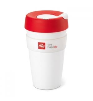 Copo Illy KeepCup Travel Mug Branco 1un