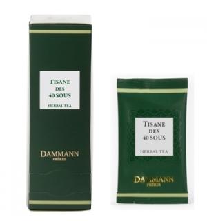Tisana Bolsas Des 40 Sous Dammann - 24un